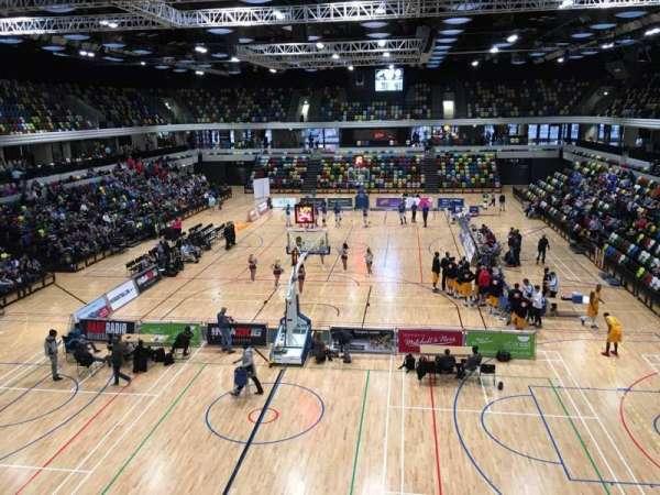 Copper Box Arena, sección: 207, fila: 12, asiento: 47