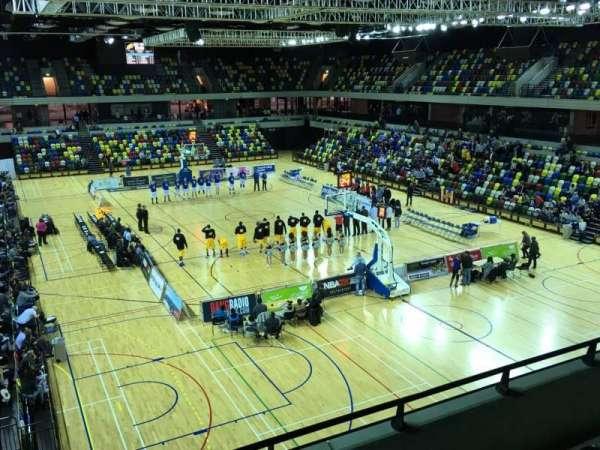Copper Box Arena, sección: 208, fila: 14, asiento: 85