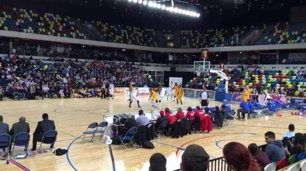 Copper Box Arena, sección: 105, fila: 5, asiento: 101