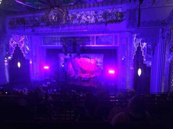 Hollywood Pantages Theatre, sección: Mezzanine R, fila: M, asiento: 10