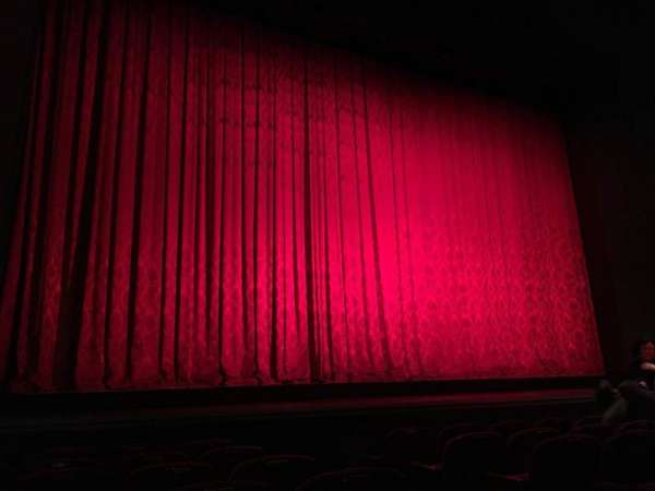 Walnut Street Theatre, sección: Orch L, fila: G, asiento: 203