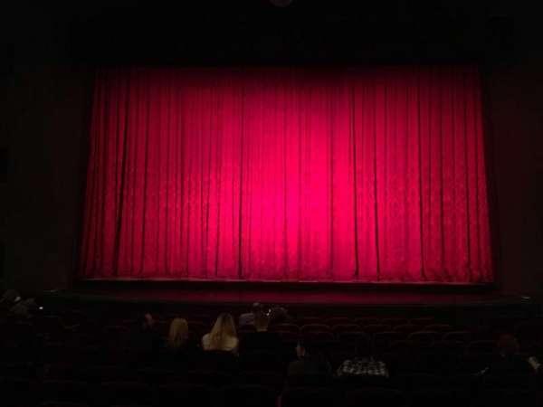 Walnut Street Theatre, sección: Orch C, fila: N, asiento: 107
