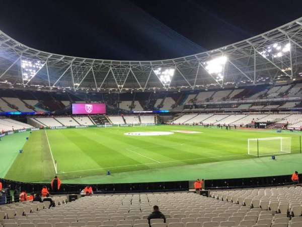 London Stadium, sección: 145, fila: 22