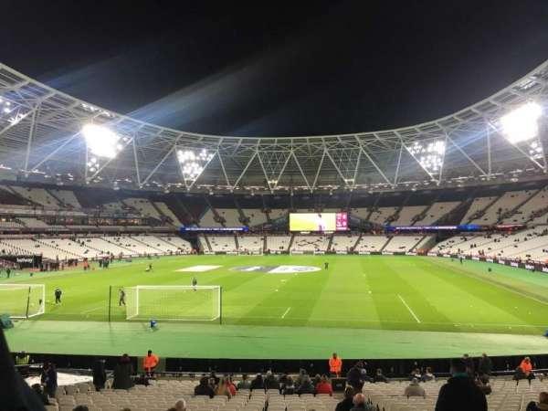 London Stadium, sección: 125, fila: 22