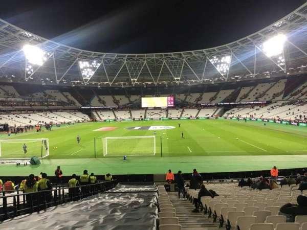 London Stadium, sección: 124, fila: 22