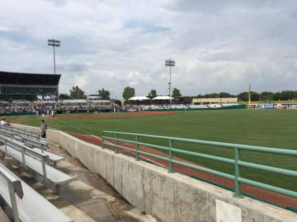 Nelson W. Wolff Municipal Stadium, sección: 126, fila: G, asiento: 2