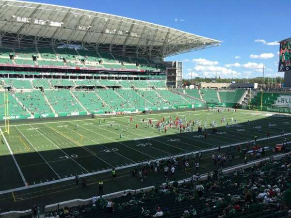 Mosaic Stadium, sección: 120, fila: 24, asiento: 20