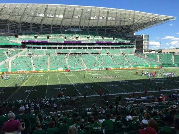 Mosaic Stadium, sección: 116, fila: 29, asiento: 22