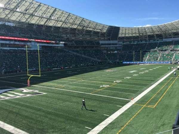Mosaic Stadium, sección: 147, fila: 12, asiento: 7