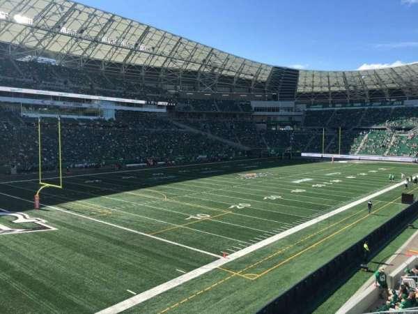 Mosaic Stadium, sección: 146, fila: 16, asiento: 13