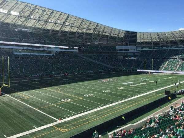 Mosaic Stadium, sección: 145, fila: 18, asiento: 14