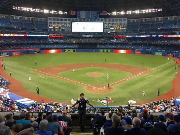 Rogers Centre, sección: 224br, fila: 6, asiento: 1