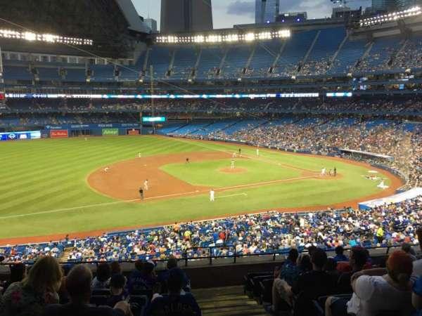 Rogers Centre, sección: 232l, fila: 9, asiento: 101
