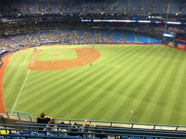 Rogers Centre, sección: 508r, fila: 8, asiento: 6