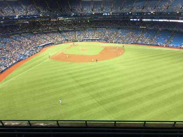Rogers Centre, sección: 504L, fila: 6, asiento: 108