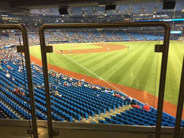 Rogers Centre, sección: 109L, fila: Wl, asiento: A106