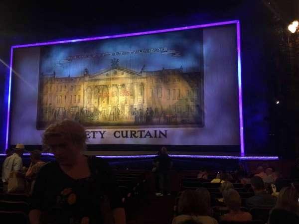 The London Palladium, sección: Stalls, fila: N, asiento: 15