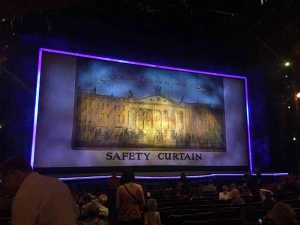 The London Palladium, sección: Stalls, fila: O, asiento: 34