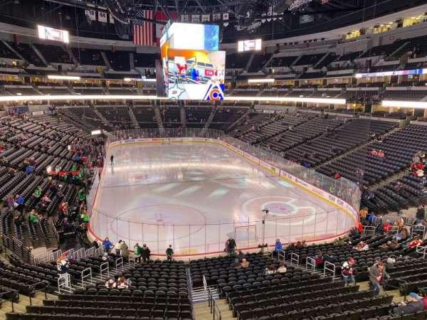 Pepsi Center, sección: 248, fila: 2, asiento: 9
