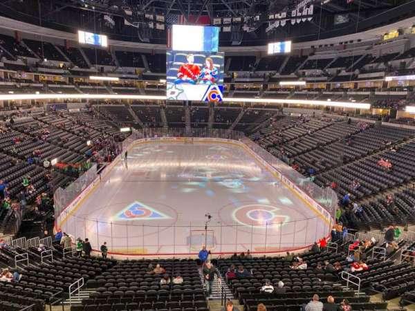 Pepsi Center, sección: 246, fila: 2, asiento: 11