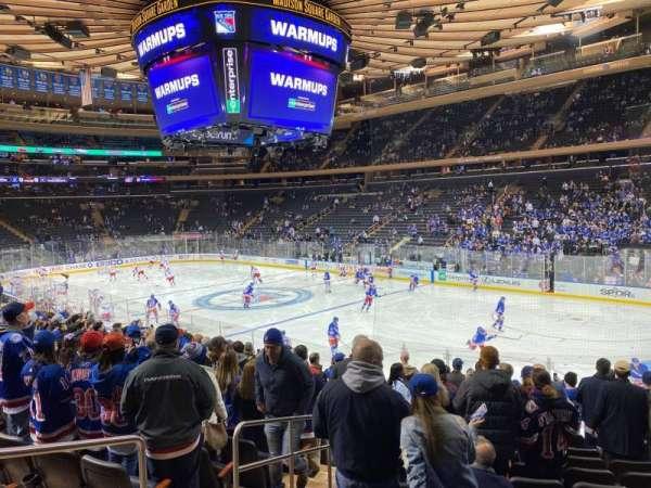 Madison Square Garden, sección: 120, fila: 15, asiento: 3