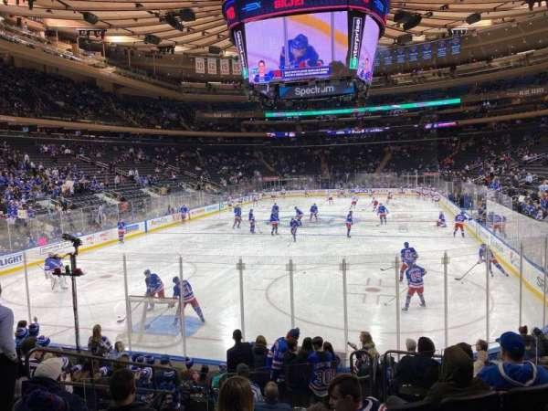 Madison Square Garden, sección: 103, fila: 10, asiento: 5