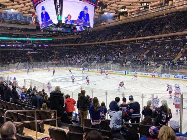 Madison Square Garden, sección: 110, fila: 11, asiento: 6