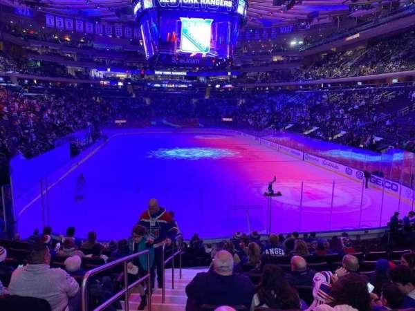 Madison Square Garden, sección: 112, fila: 14, asiento: 1