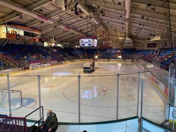 1st Summit Arena, sección: 10, fila: G, asiento: 6