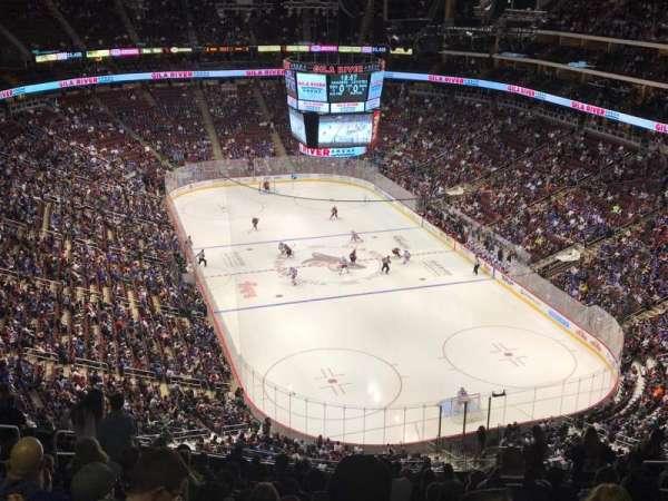 Gila River Arena, sección: 210, fila: Q, asiento: 9