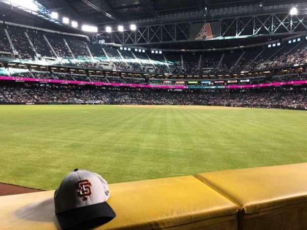 Chase Field, sección: 144, fila: 11, asiento: 20