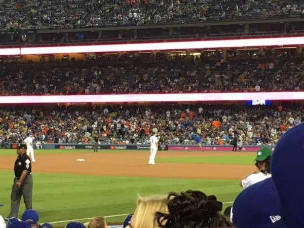 Dodger Stadium, sección: 41FD, fila: D, asiento: 5