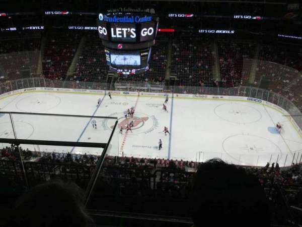 Prudential Center, sección: 213, fila: 3, asiento: 18