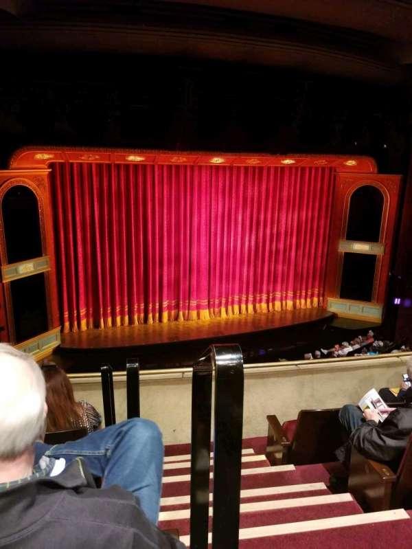 Marquis Theatre, sección: Mezzanine L, fila: D, asiento: 1