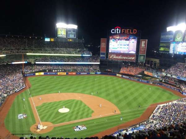 Citi Field, sección: 510, fila: 14, asiento: 8