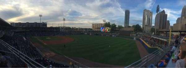 BB&T Ballpark (Charlotte), sección: Deck