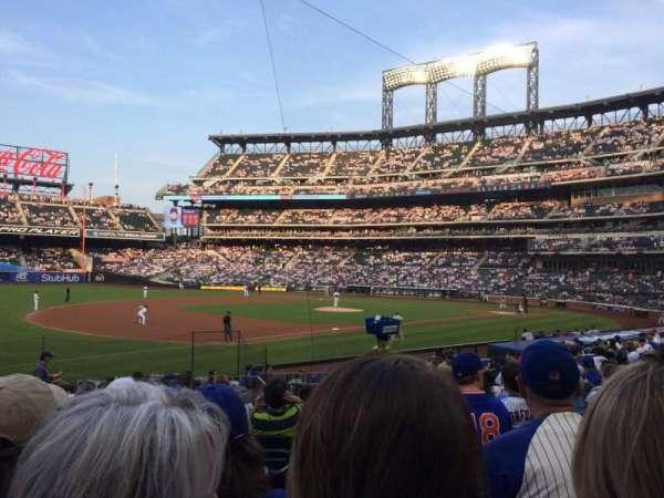 Citi Field, sección: 125, fila: 18, asiento: 12