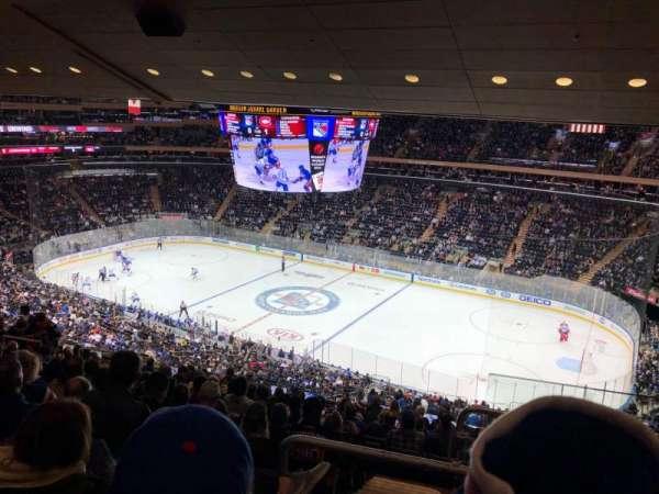 Madison Square Garden, sección: 213, fila: 14, asiento: 22