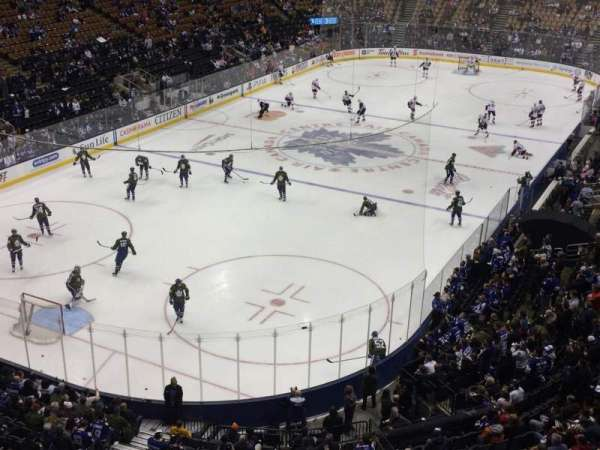 Scotiabank Arena, sección: 301, fila: 1, asiento: 15