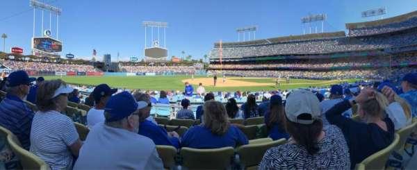 Dodger Stadium, sección: 29FD, fila: E, asiento: 5