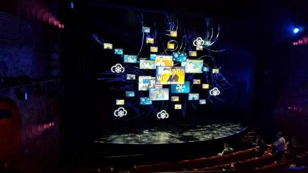 August Wilson Theatre, sección: Mezzanine L, fila: A, asiento: 13