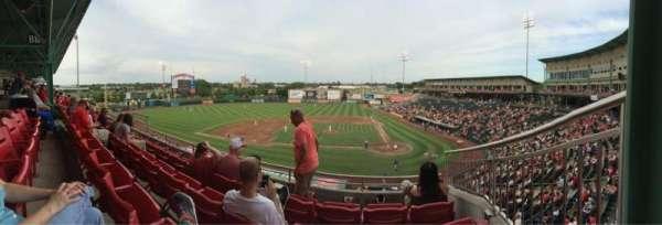 Hammons Field, sección: AA, fila: 4, asiento: 3