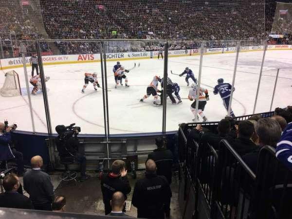 Scotiabank Arena, sección: 111, fila: 9, asiento: 5