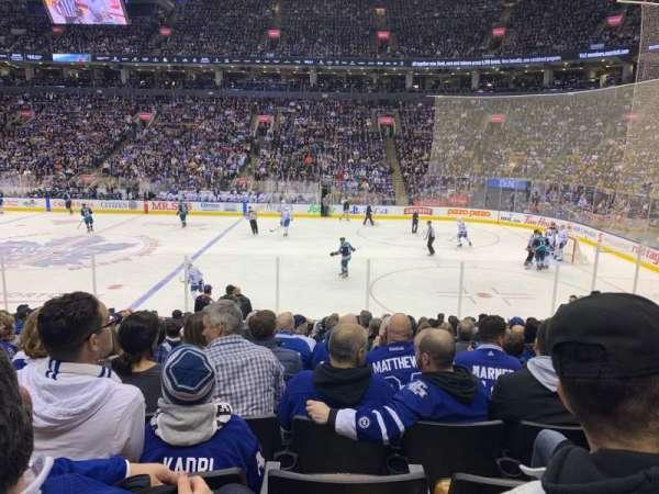 Scotiabank Arena, sección: 107, fila: 16, asiento: 10