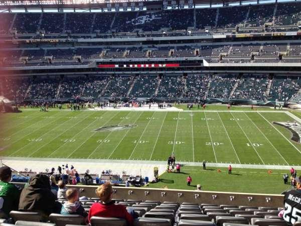 Lincoln Financial Field, sección: C23, fila: 15, asiento: 15