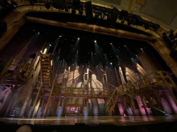 Richard Rodgers Theatre, sección: Orchestra C, fila: B, asiento: 109