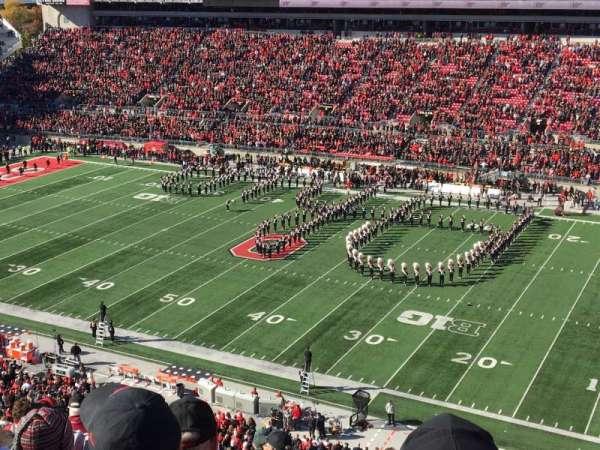 Ohio Stadium, sección: 16C, fila: 10, asiento: 25