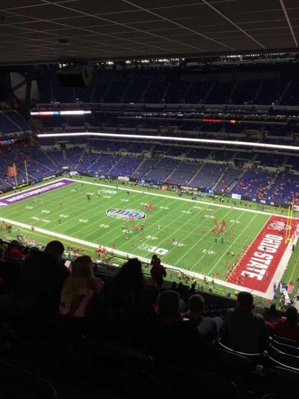 Lucas Oil Stadium, sección: 635, fila: 18, asiento: 15