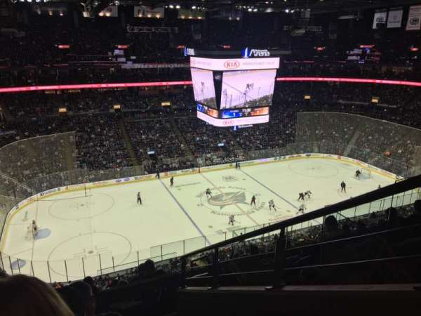 Nationwide Arena, sección: 219, fila: H, asiento: 1