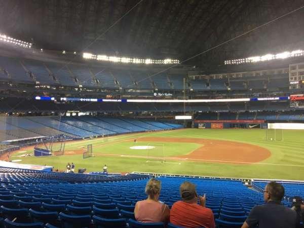 Rogers Centre, sección: 116L, fila: 39, asiento: 105